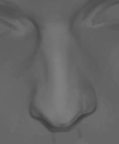 Nose 1 by depresedescapist