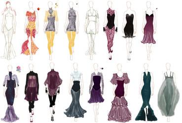 Fashion Thumbnails by depresedescapist