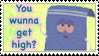 Towelie- Wunna Get High? Stamp by Reicheru25
