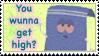Towelie- Wunna Get High? Stamp by Reicheru25