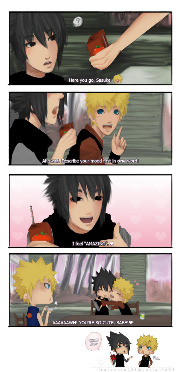 Short tomato comic by SasuNaru033