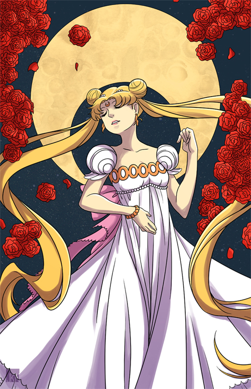 Princess Serenity by VeloursRose