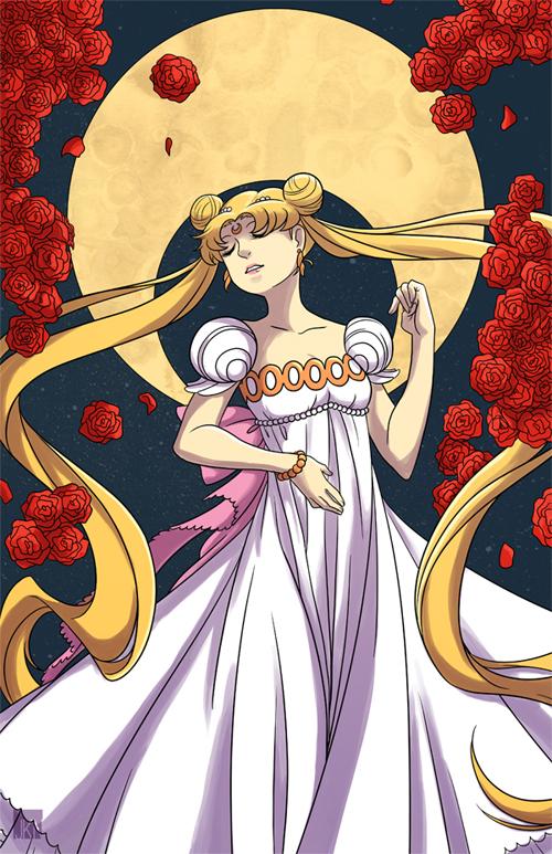 Princess Serenity by VeloursRose