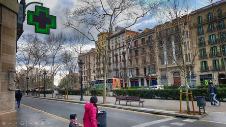Street in Barcelona .. Do you recognize the street