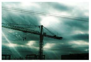 Crane. by MadMasquerade