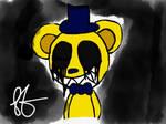 Golden Freddy by lightshadowsally