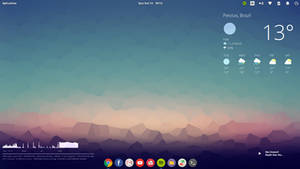 Elementary OS Freya + Icons + Conky + Wallpaper