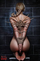 Nude, Tied and waiting - Fine Art of Bondage