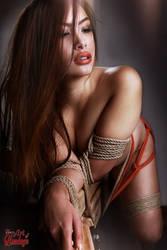tied, nude asian girl - Fine Art of Bondage