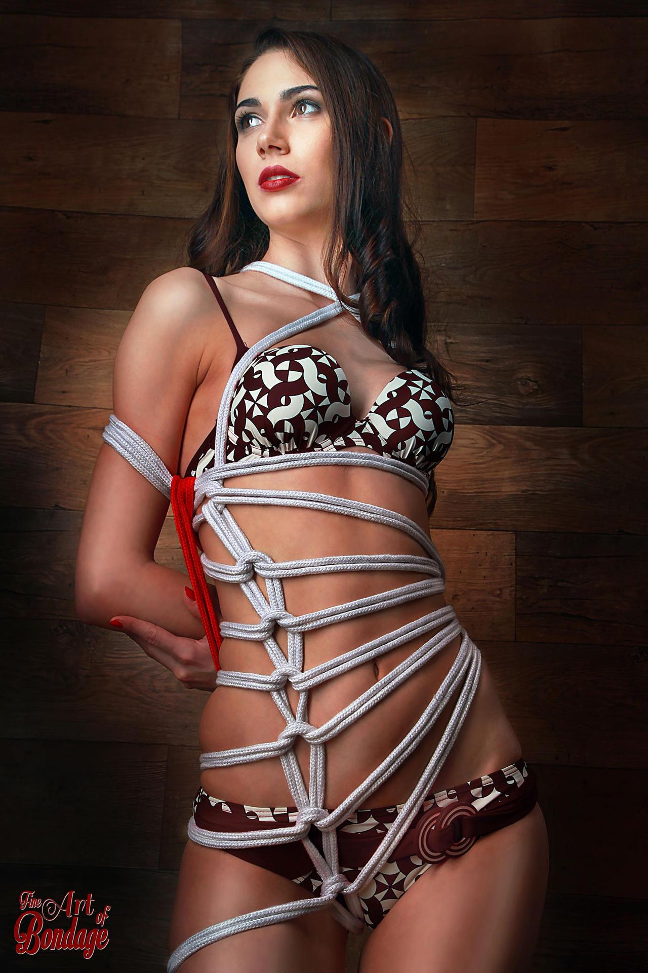 Bikini Bondage - Fine Art of Bondage