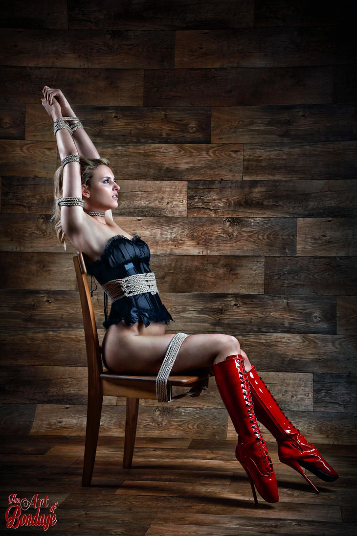 Chair Bondage - Fine Art of Bondage by Model-Space: model-space.deviantart.com