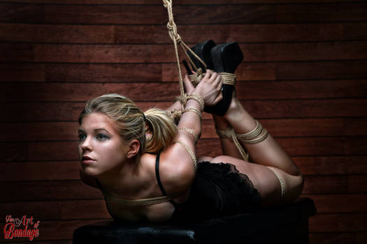 Hogtied Beauty - Fine Art Of Bondage