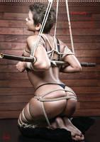 Beauty of Rope III, Fine Art of Bondage - Calendar by Model-Space