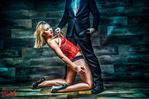 Couple Submission Paddle - Fine Art of Bondage by Model-Space