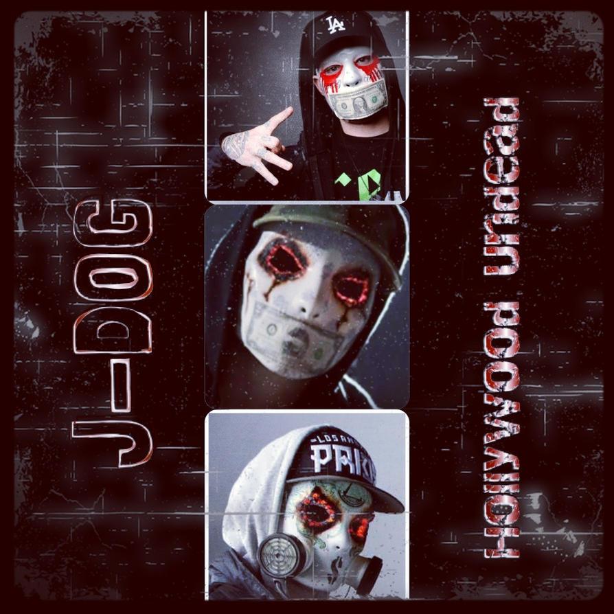 Hollywood Undead J Dog Mask 2013 J-Dog by OzeraBlue18