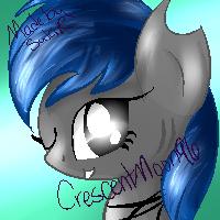 Shark Pony Icon by AmethystSuki