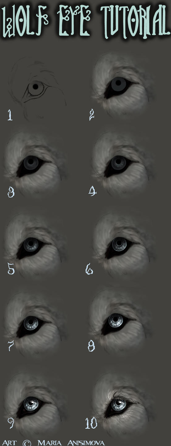 How I draw eyes by Yellow-eyes on DeviantArt