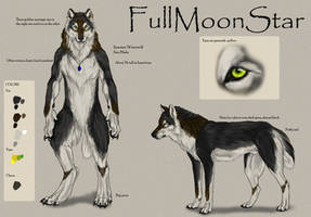 Fullmoonstar reference sheet by Yellow-eyes