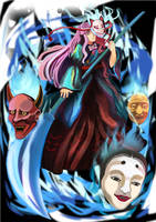 Noh of Darkness by LiliceKizokuChan