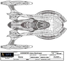 Ships of ASR- UFP- COVENTRY by GhostRider2007