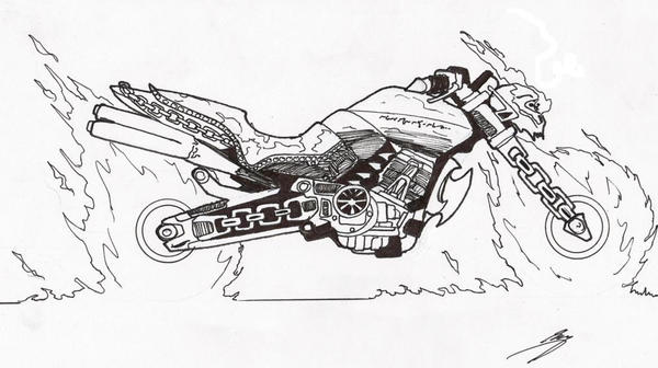 Ghost Rider 2020 Hellcycle 10 By Ghostrider2007 On Deviantart