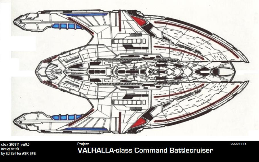 Ships of ASR-UFP-VALHALLA CBC by GhostRider2007