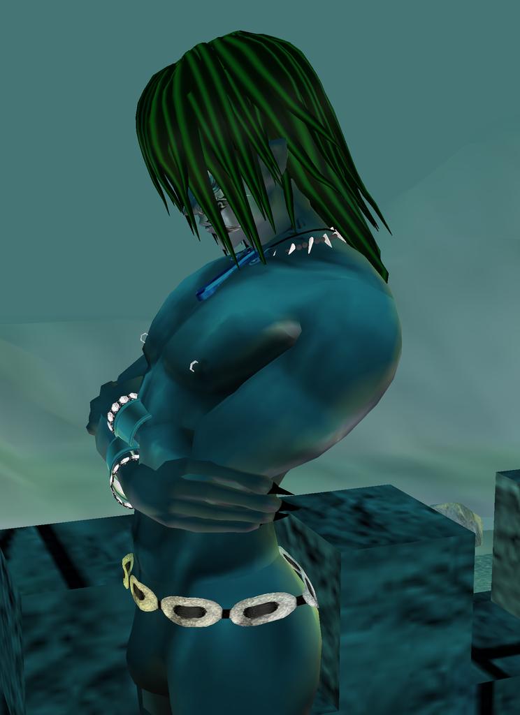 Rydarius...Atlantean Prince, New Atlantis by GhostRider2007