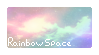 Rainbow Space Stamp | F2U by GemLox7
