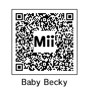 QR Code: Baby Becky by DarkSonic95