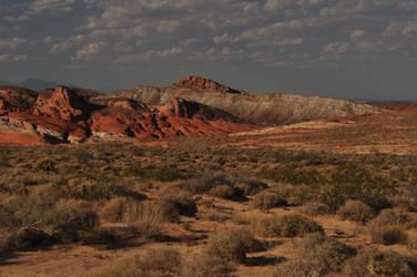 Desert Landscape Valley of Fire by ConvertedCanvas