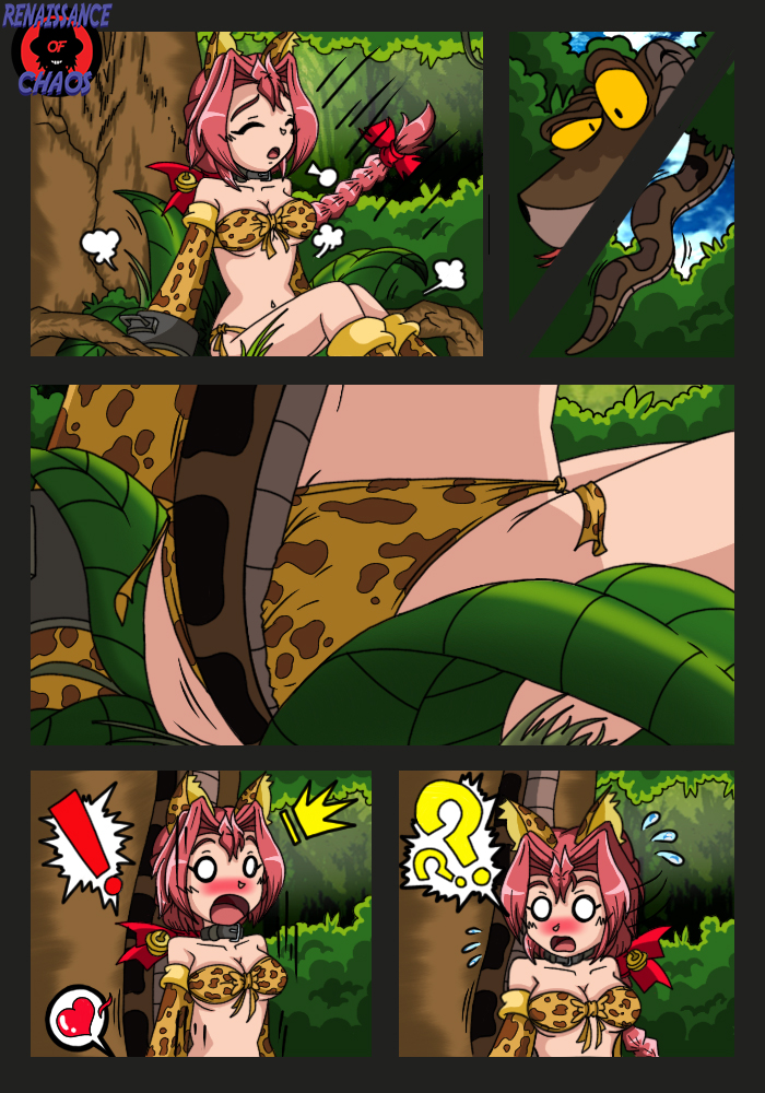 DC2xJB: Rainbow Hypnotic Forest Doujin Page 8 by RenaissanceOfChaos