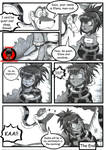 Kaa and Elena (My OC) comic Page 2 (COMMISSION)