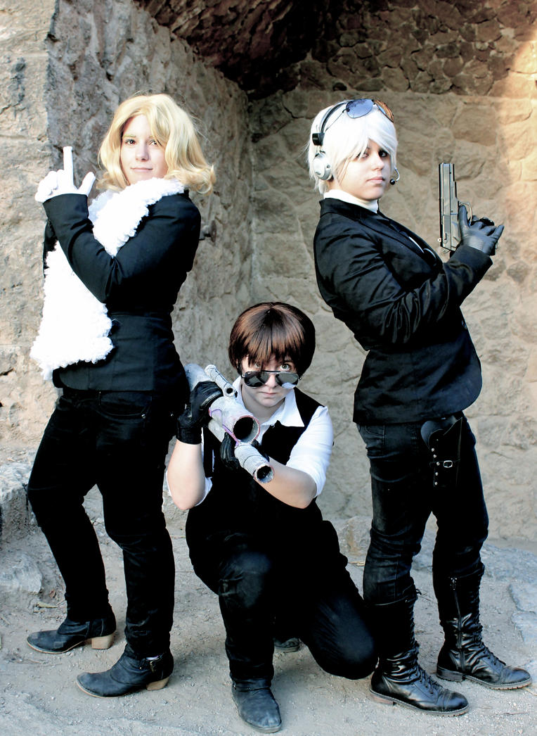 Bad Touch Trio Spies (APH) by starfenix