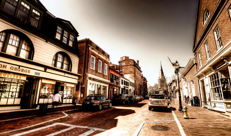 Haunted Annapolis by fotomachine