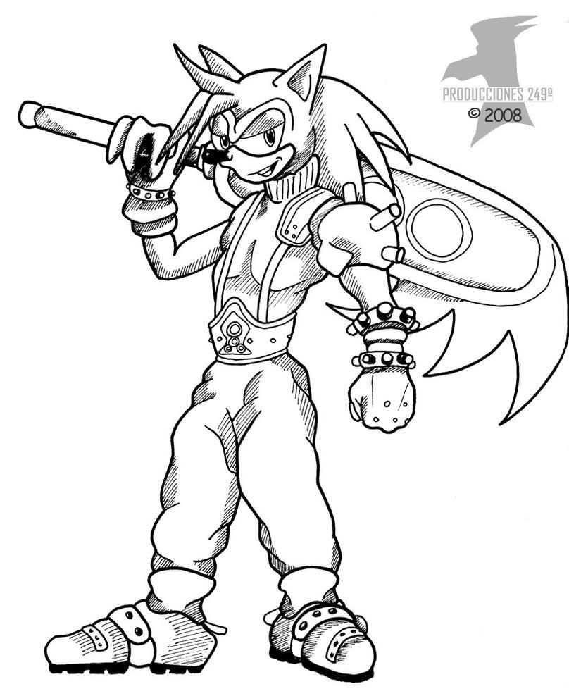 Sonic Fantasy. Sonic by jamescorck