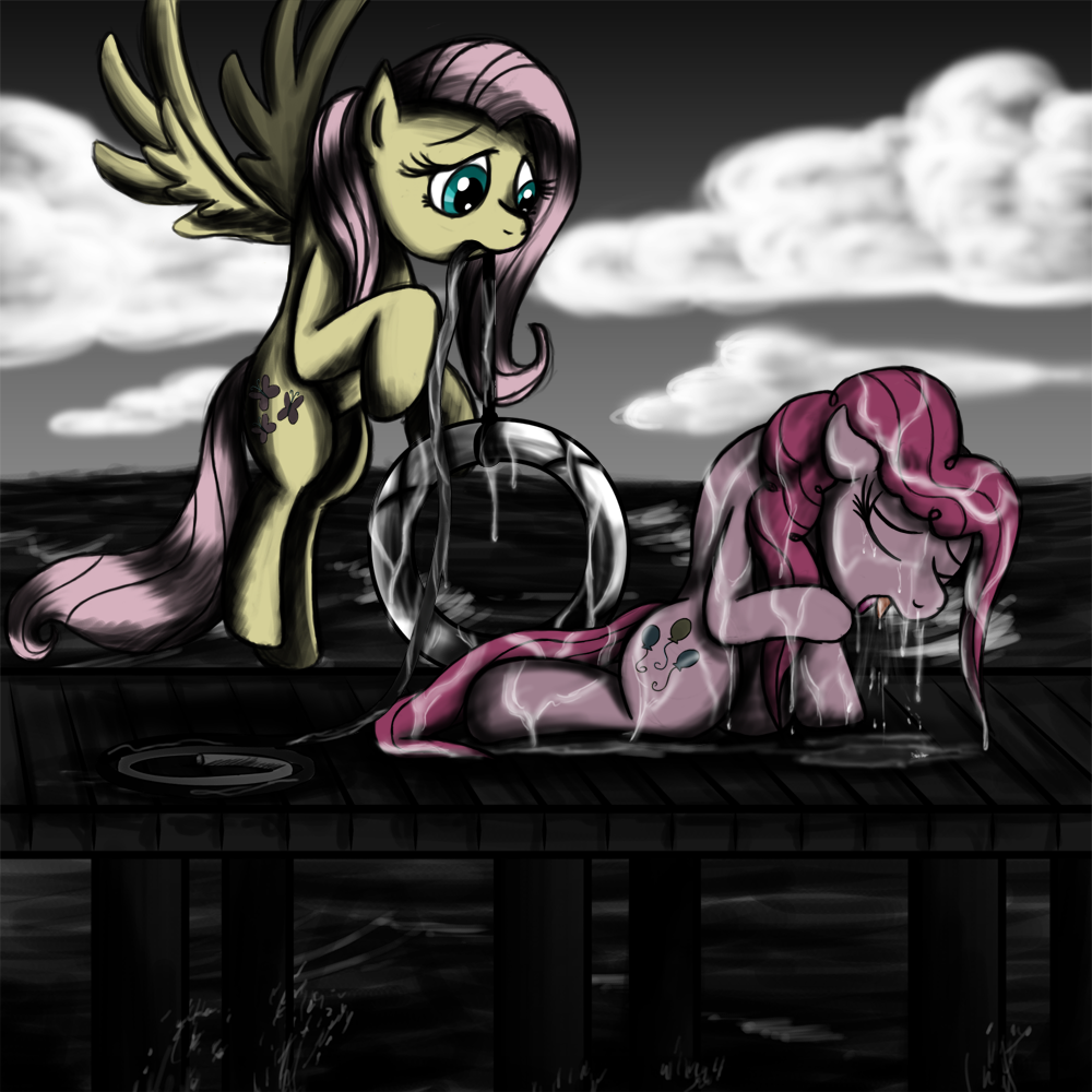 Fanart - MLP. Pinkie's Rescue by jamescorck