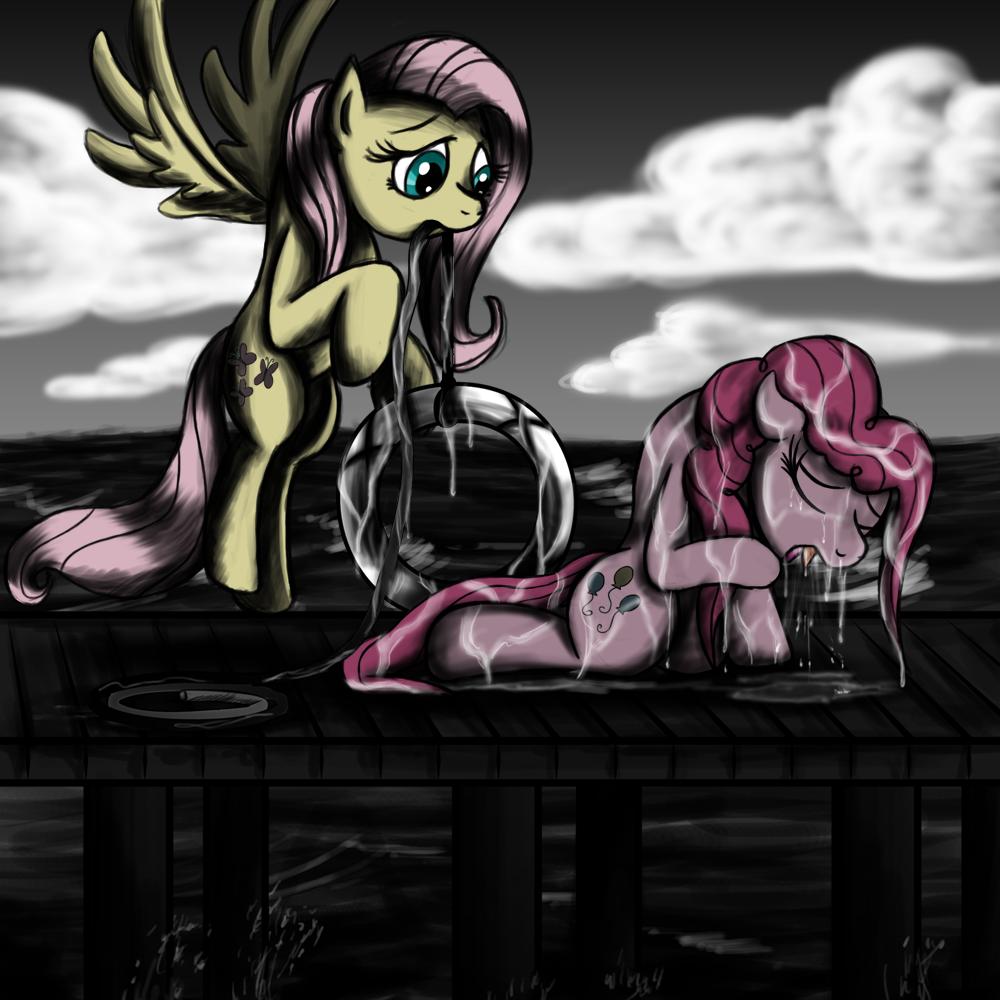 Fanart - MLP. Pinkie's Rescue by jamescorck
