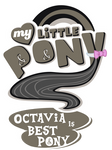Fanart - MLP. My Little Pony Logo - Octavia