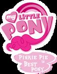 Fanart - MLP. My Little Pony Logo - Pinkie Pie