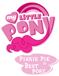 Fanart - MLP. My Little Pony Logo - Pinkie Pie