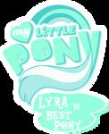 Fanart - MLP. My Little Pony Logo - Lyra