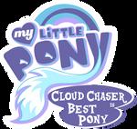 Fanart - MLP. My Little Pony Logo - Cloudchaser