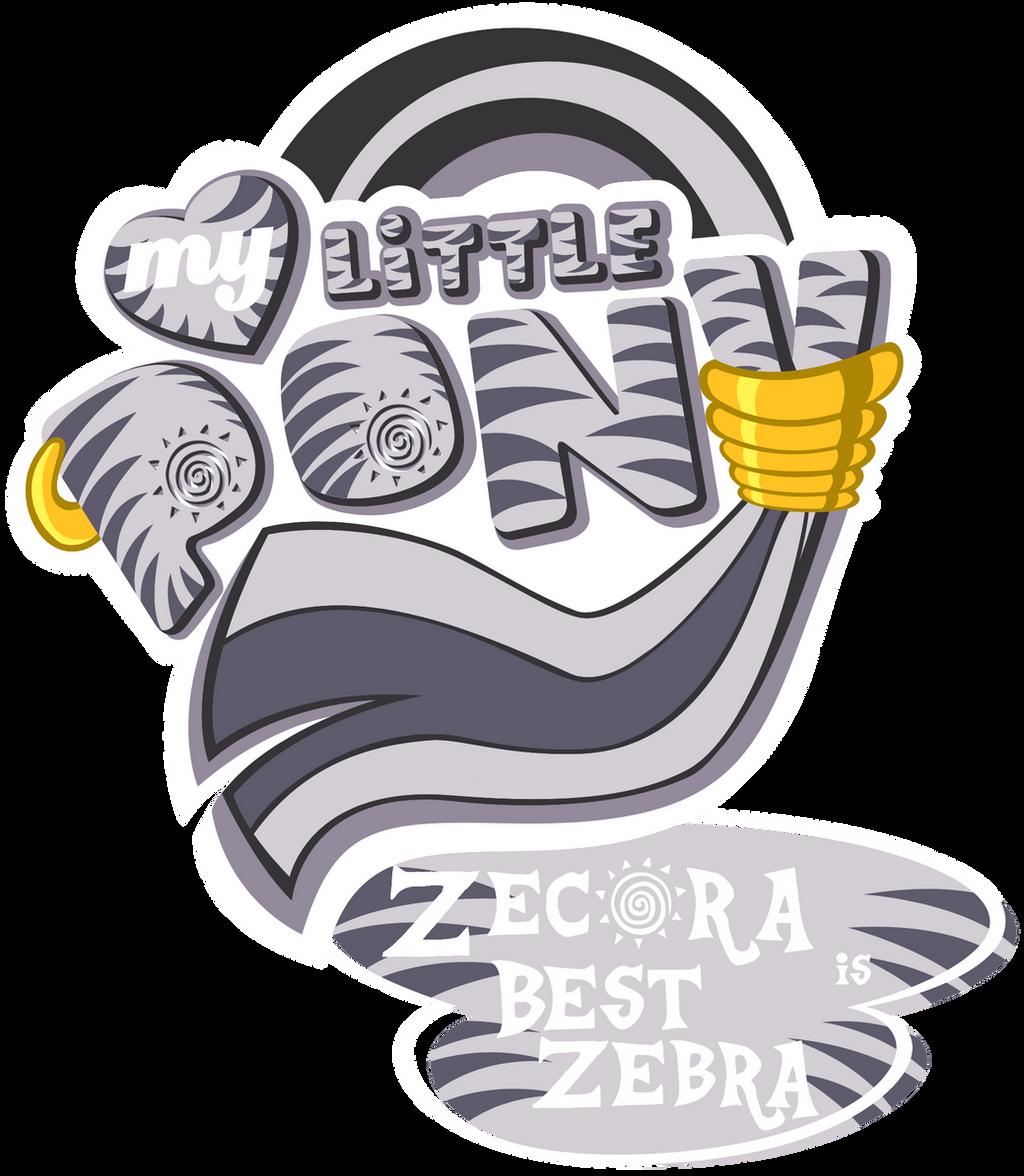 Fanart - MLP. My Little Pony Logo - Zecora by jamescorck