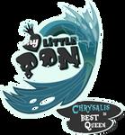 Fanart - MLP. My Little Pony Logo - Chrysalis by jamescorck