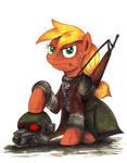 Commission - MLP. NCR Ranger Applejack