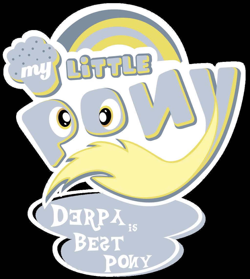 fanart___mlp__my_little_pony_logo___derp