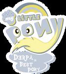 Fanart - MLP. My Little Pony Logo - Derpy