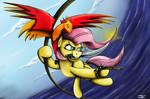 Fanart - MLP. The Dread Pirate Shy