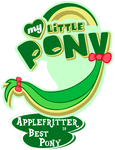 Fanart - MLP. My Little Pony Logo - Applefritter