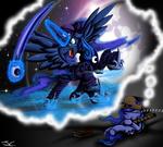 MLP. Battle Armor Pirate Princess Luna